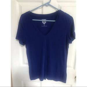 Blue Vneck shirt
